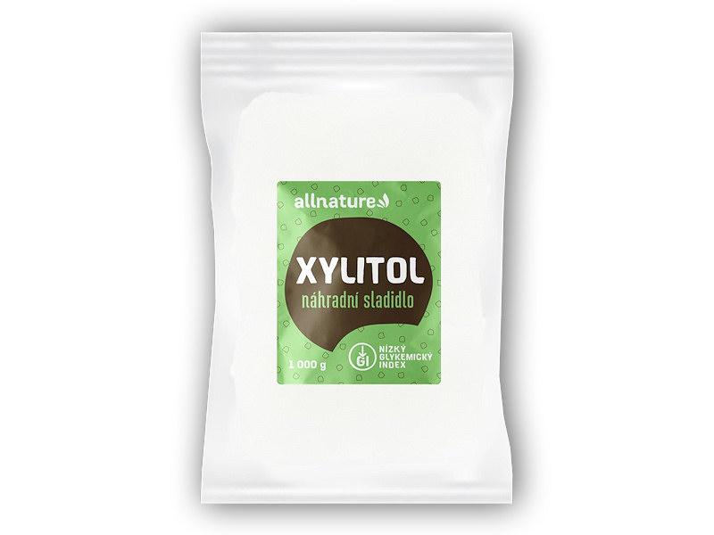 Allnature Xylitol - březový cukr 1000g