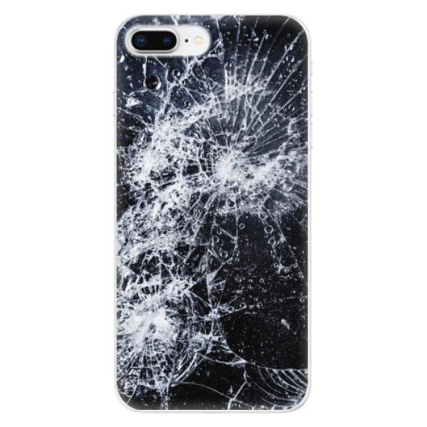 Odolné silikonové pouzdro iSaprio - Cracked - iPhone 8 Plus