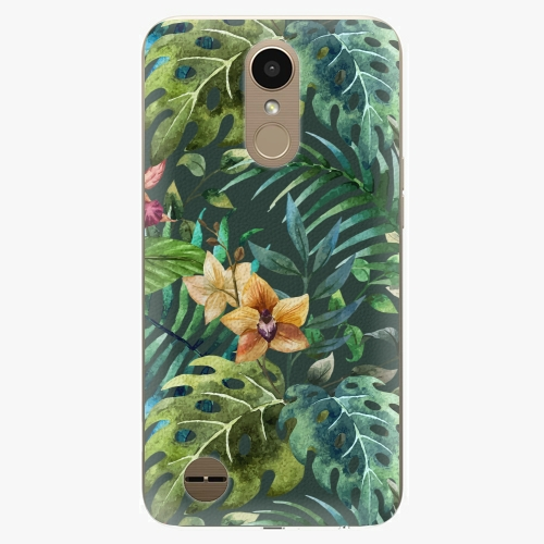 Plastový kryt iSaprio - Tropical Green 02 - LG K10 2017