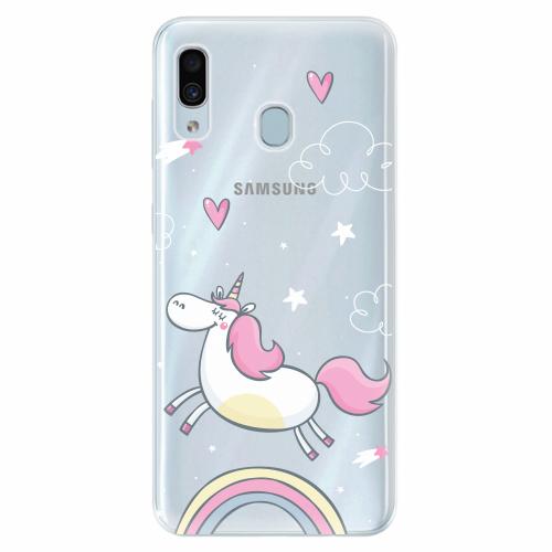 Silikonové pouzdro iSaprio - Unicorn 01 - Samsung Galaxy A30