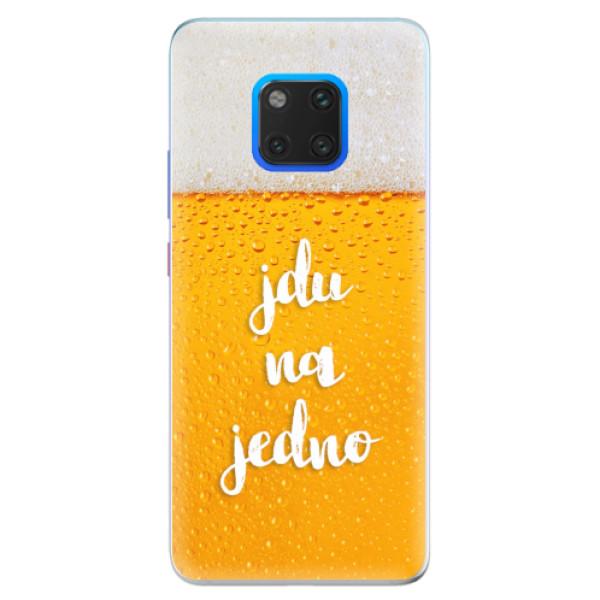 Silikonové pouzdro iSaprio - Jdu na jedno - Huawei Mate 20 Pro