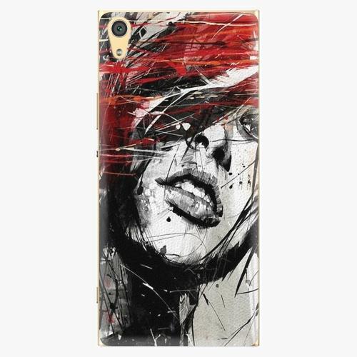 Plastový kryt iSaprio - Sketch Face - Sony Xperia XA1 Ultra