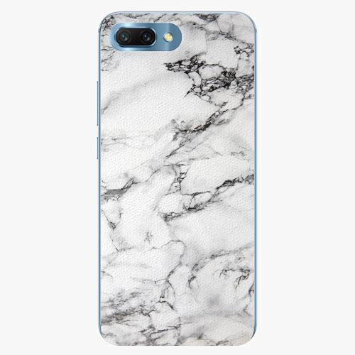 Silikonové pouzdro iSaprio - White Marble 01 - Huawei Honor 10