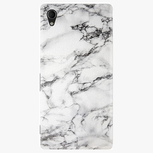Plastový kryt iSaprio - White Marble 01 - Sony Xperia M4