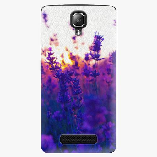 Plastový kryt iSaprio - Lavender Field - Lenovo A1000
