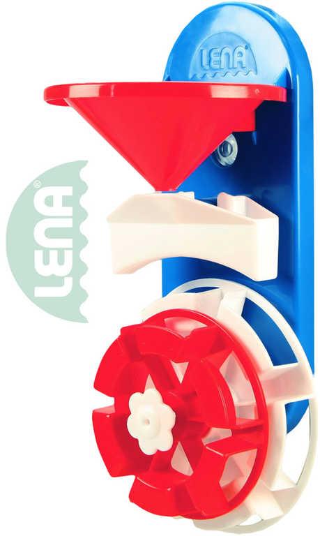 LENA Baby mlýnek vodní plast 15cm na koupání do vany
