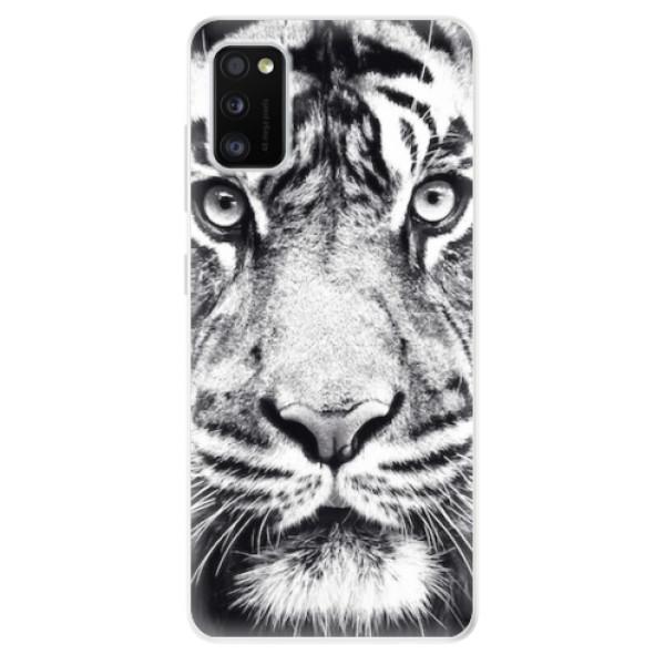 Odolné silikonové pouzdro iSaprio - Tiger Face - Samsung Galaxy A41