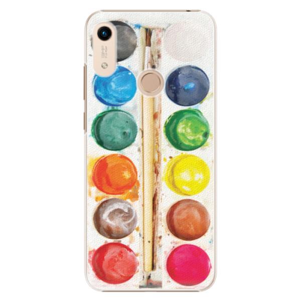 Plastové pouzdro iSaprio - Watercolors - Huawei Honor 8A