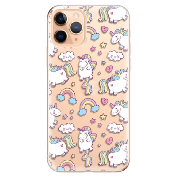 Odolné silikonové pouzdro iSaprio - Unicorn pattern 02 - iPhone 11 Pro
