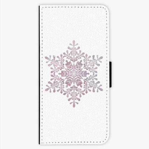 Flipové pouzdro iSaprio - Snow Flake - Sony Xperia XA