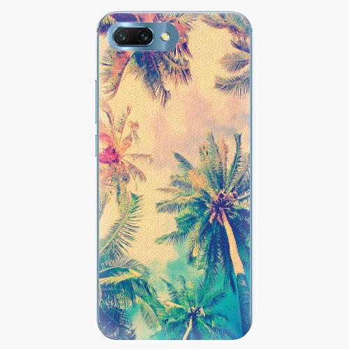Silikonové pouzdro iSaprio - Palm Beach - Huawei Honor 10