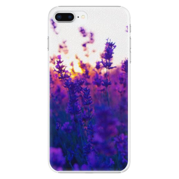 Plastové pouzdro iSaprio - Lavender Field - iPhone 8 Plus