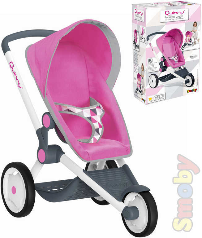 SMOBY Kočárek Jogger Maxi-Cosi pro miminko panenku do 42cm