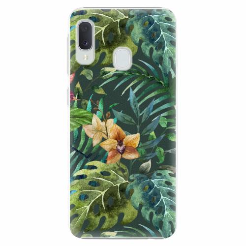 Plastový kryt iSaprio - Tropical Green 02 - Samsung Galaxy A20e