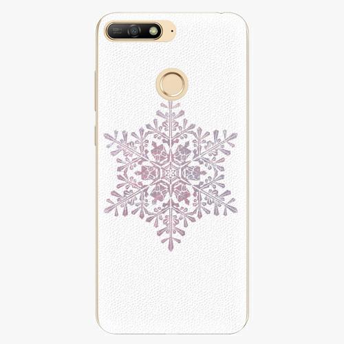 Silikonové pouzdro iSaprio - Snow Flake - Huawei Y6 Prime 2018