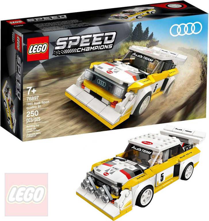 LEGO SPEED CHAMPIONS 1985 Audi Sport quattro S1 76897 STAVEBNICE