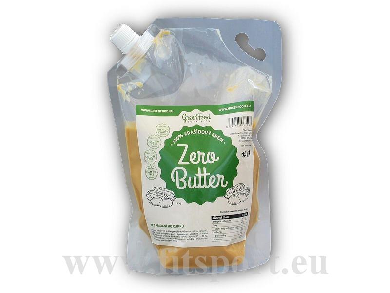 Zero Butter 100% <b>arašídový</b> krém natural 1000g