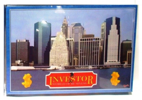 Investor společenská hra v krabici SK verze