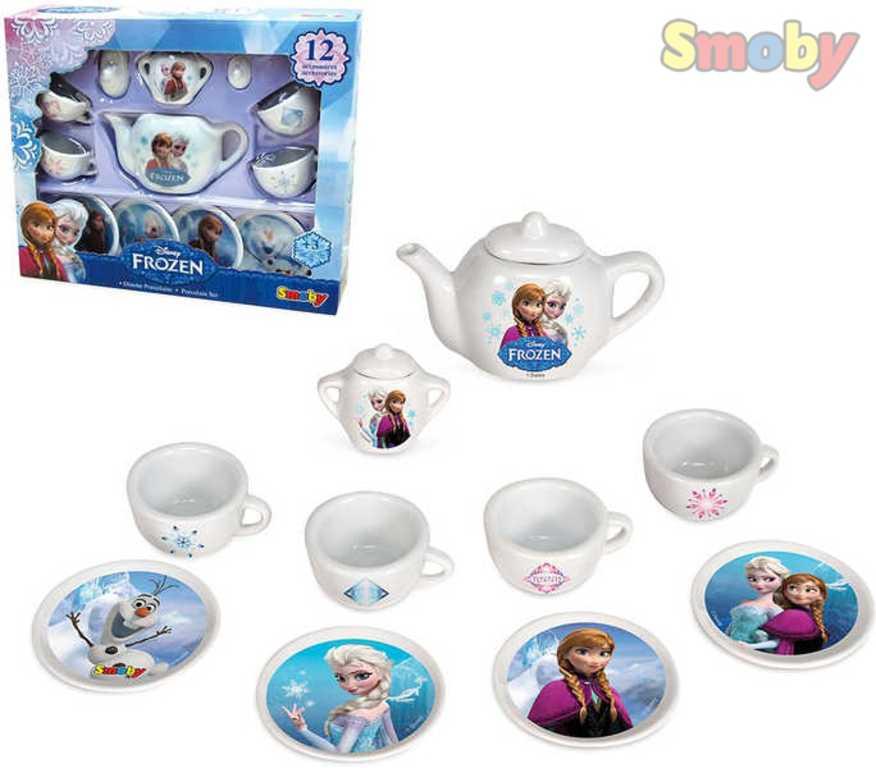 SMOBY Servis kavový porcelánový set Ledové Království (Frozen)