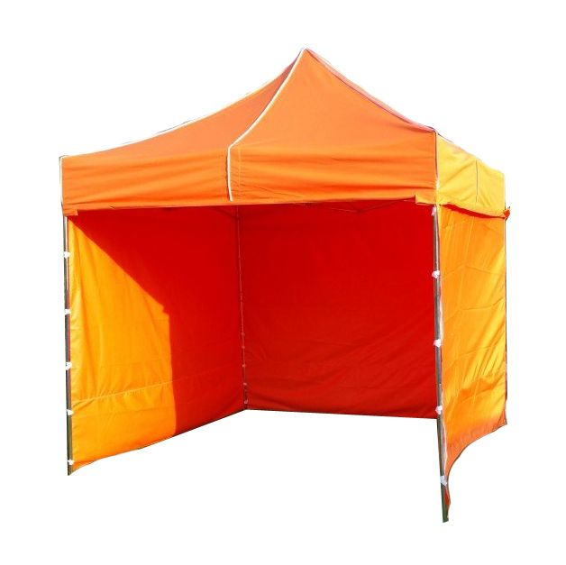 Zahradní  párty přístřešek PROFI STEEL 3 x 3 - oranžová