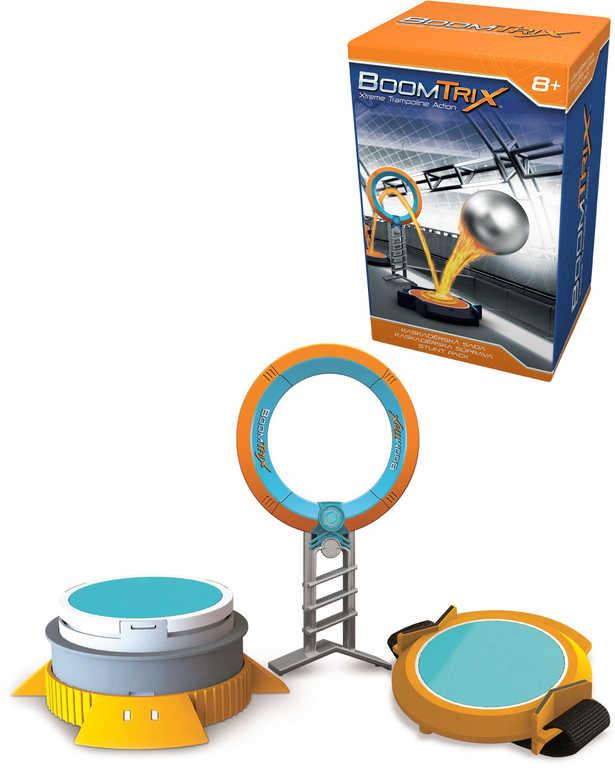 ADC BoomTrix Set kaskadérský kruh s trampolínou doplněk ke kuličkové dráze