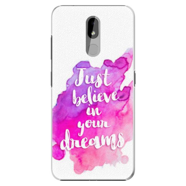 Plastové pouzdro iSaprio - Believe - Nokia 3.2