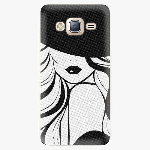 Plastový kryt iSaprio - First Lady - Samsung Galaxy J3