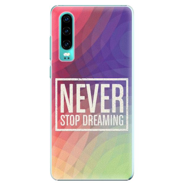 Plastové pouzdro iSaprio - Dreaming - Huawei P30
