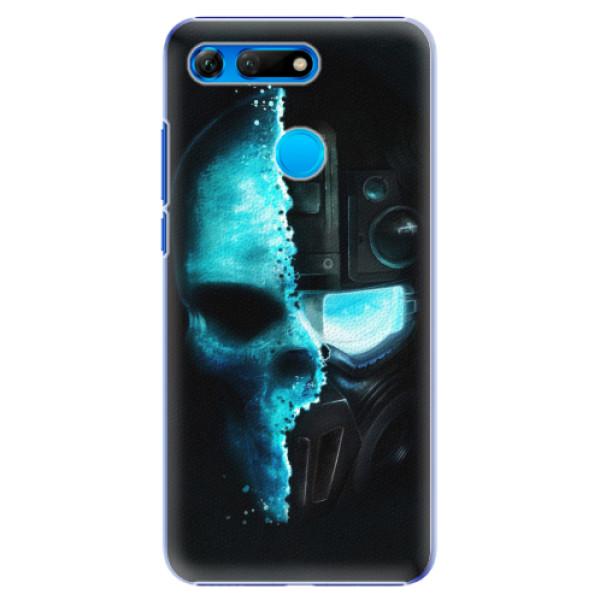 Plastové pouzdro iSaprio - Roboskull - Huawei Honor View 20