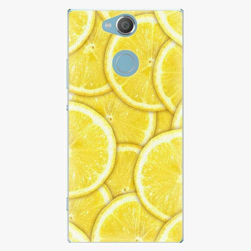 Plastový kryt iSaprio - Yellow - Sony Xperia XA2