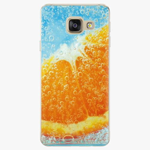 Plastový kryt iSaprio - Orange Water - Samsung Galaxy A3 2016