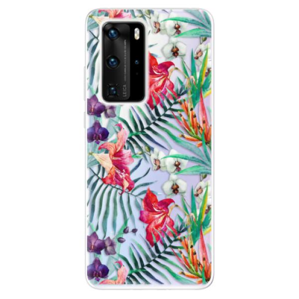 Odolné silikonové pouzdro iSaprio - Flower Pattern 03 - Huawei P40 Pro