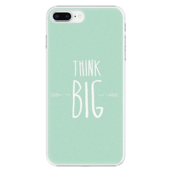 Plastové pouzdro iSaprio - Think Big - iPhone 8 Plus