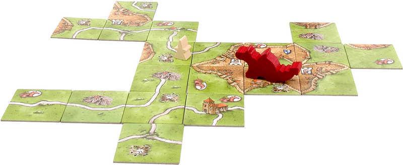 MINDOK HRA Carcassonne rozšíření 3 Princezna a drak *SPOLEČENSKÉ HRY*