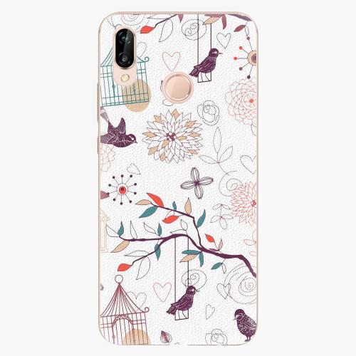 Plastový kryt iSaprio - Birds - Huawei P20 Lite
