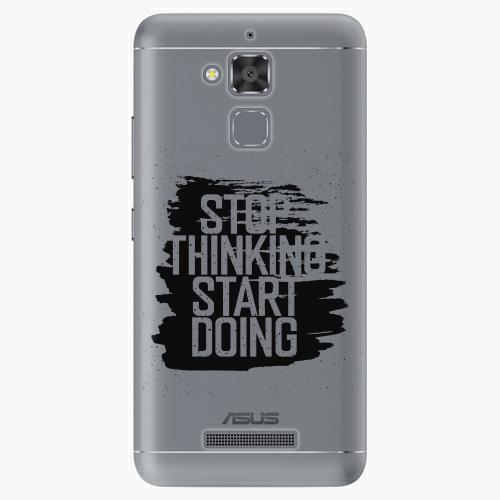 Plastový kryt iSaprio - Start Doing - black - Asus ZenFone 3 Max ZC520TL