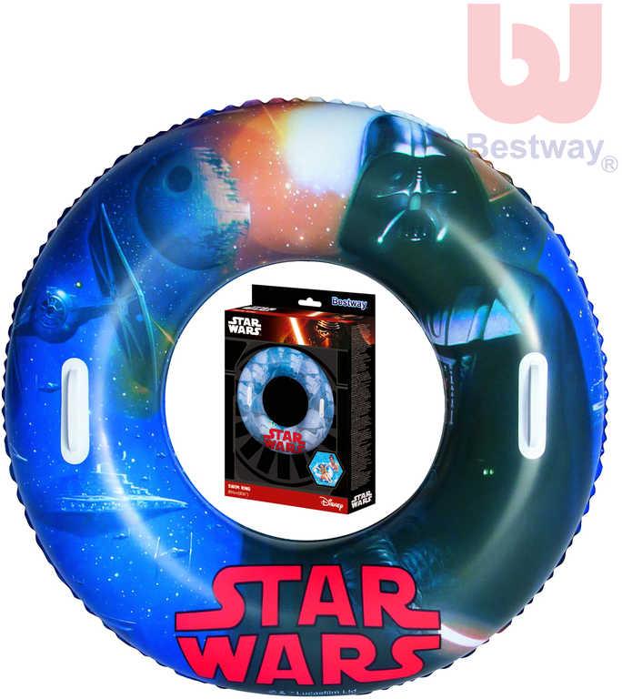 BESTWAY Kruh dětský 91 cm nafukovací plavací kolo Star Wars do vody