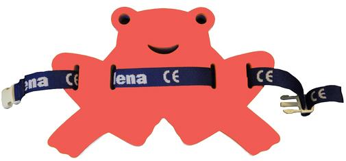 MATUŠKA-DENA Pás plavecký žabka 37-24cm červeno-modrá
