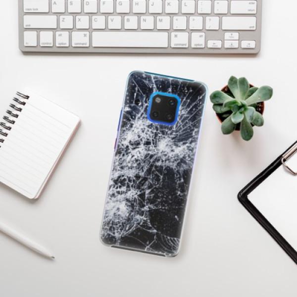 Plastové pouzdro iSaprio - Cracked - Huawei Mate 20 Pro