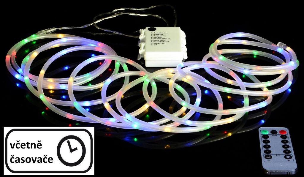 Vánoční LED osvětlení - MINI kabel - 5 m barevné