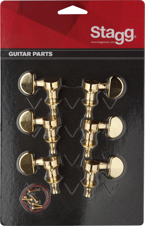 Stagg KG395GD, ladící mechanika pro kytaru