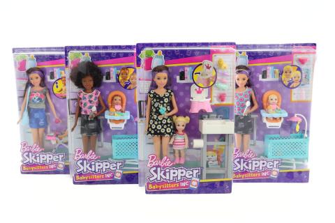 Barbie Chůva herní set FHY97