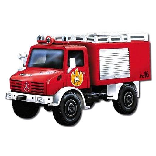 MONTI SYSTÉM 16 Auto Mercedes Unimog FIRE BRIGADE MS16 0106-16