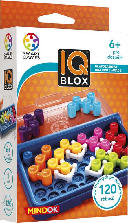 MINDOK HRA Smart IQ Blox hlavolamy pro 1 hráče