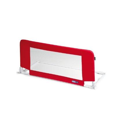 Bezpečnostní zábrana na postel Mini MOON - červená