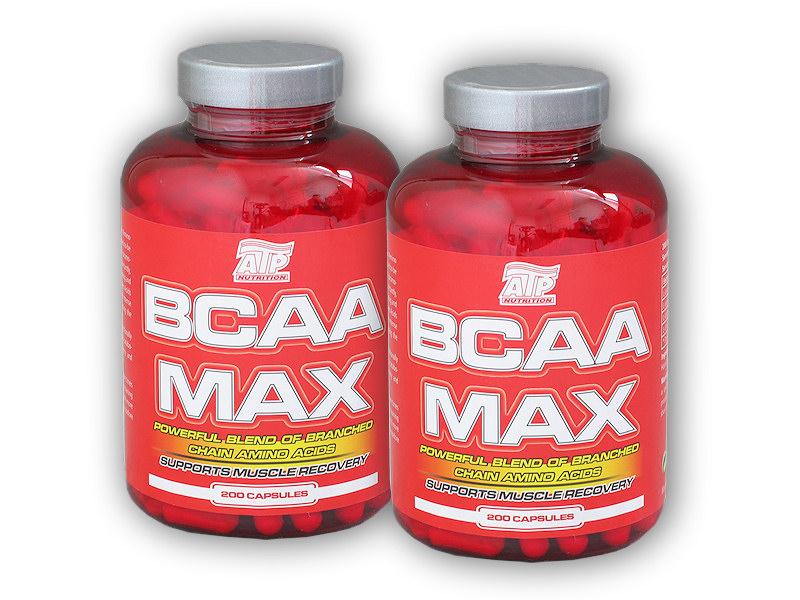 2x BCAA MAX 200 kapslí