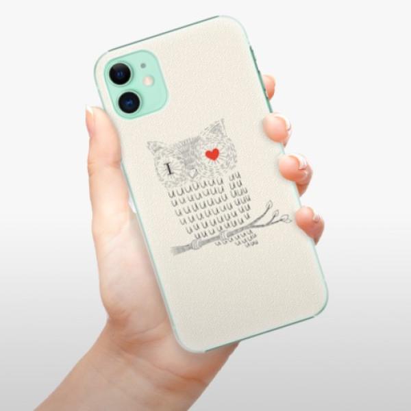 Plastové pouzdro iSaprio - I Love You 01 - iPhone 11