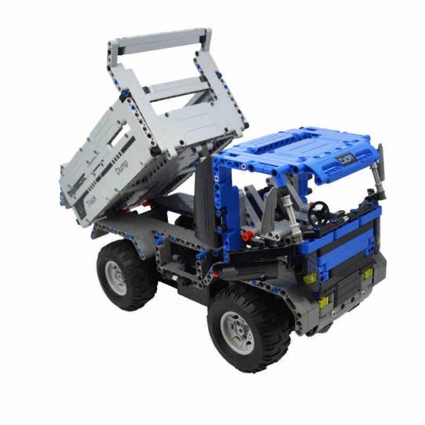 Stavebnice Dump Truck - auto na dálkové ovládání
