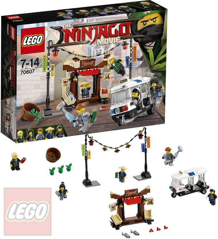 LEGO NINJAGO Honička po Ninjago City 70607 STAVEBNICE