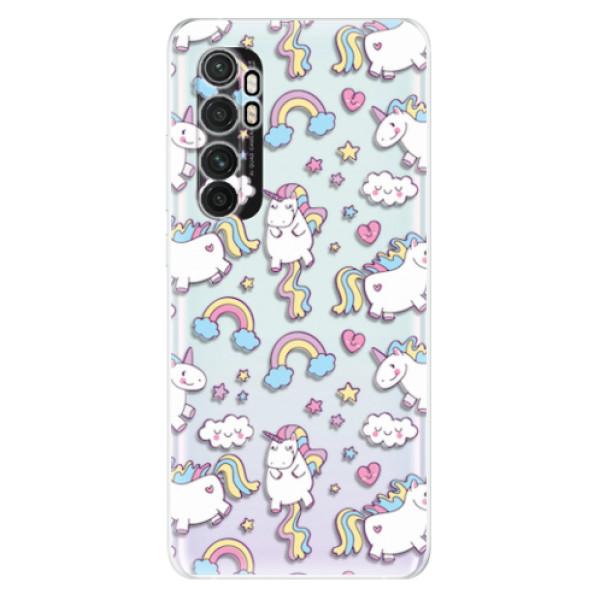 Odolné silikonové pouzdro iSaprio - Unicorn pattern 02 - Xiaomi Mi Note 10 Lite